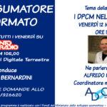 """IL CONSUMATORE INFORMATO: i """"DPCM nella Sanità"""" con Alfredo Panissa, Coordinatore medici UIL FPL"""