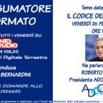 IL CONSUMATORE INFORMATO: la prima puntata con il Presidente di Adoc Nazionale Roberto Tascini